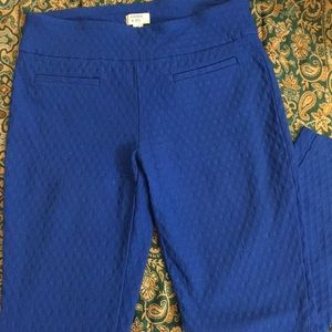 Blue Capri Pants